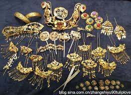 ancient jewelry hair hair ornaments and ancient