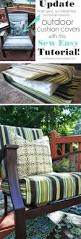 patio furniture cushion covers diy outdoor replacement chair