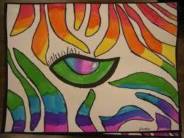 artolazzi color wheel zebra eye