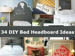 Diy Pillow Headboard 34 Diy Bed Headboard Ideas Diy Comfy Home