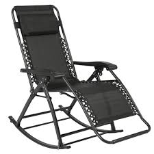 Patio Rocking Chairs Best Choice Products Zero Gravity Rocking Chair Lounge Porch Seat Outd
