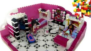 lego friends child room by misty brick youtube