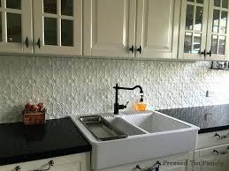 faux tin kitchen backsplash diy pressed tin kitchen backsplash bless er house avaz international