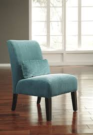 Slipper Chairs Amazon Com Anora Fabric Armless Contemporary Accent Chair Teal