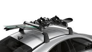 porta snowboard auto portasci e porta snowboard comfort trasporto sul tetto per