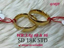 18k saudi gold wedding rings 13135 affordagold philippines
