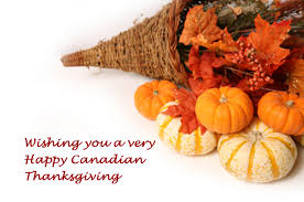 happy canadian thanksgiving to all of our clients family