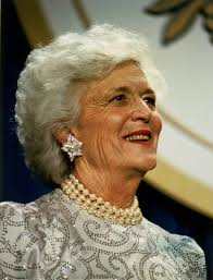 Best Hair Color To Hide Gray Barbara Bush Wikipedia