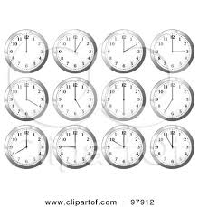 Office Wall Clocks Royalty Free Clock Illustrations By Michaeltravers Page 1