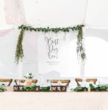 wedding backdrop personalized wedding ideas boho wedding backdrop sign banner with
