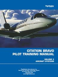cessna citation bravo flight safety training manual relay