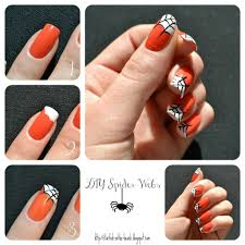 50 most beautiful spider web halloween nail art designs halloween