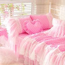 Polka Dot Comforter Queen Bedding Set Picture More Detailed Picture About Cute Pink Polka