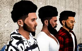 my sims 4 blog ts3 nappy fros hair conversions for males by
