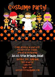 Halloween Costume Party Invitations Costume Party Halloween Party Invitations Printable Printed