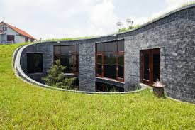 awesome stone house in vietnam by vo trong nghia architects home