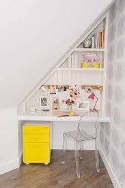 Kid Desk Kid Desk Sloped Ceiling Transitional S Room