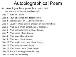 best 25 bio poem examples ideas on pinterest example of poem