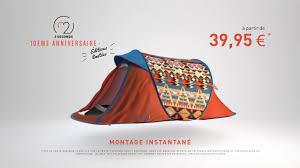tente 3 chambres decathlon 2 seconds pop up tent saga quechua by decathlon