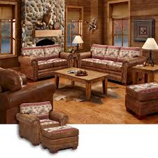 wild horse lodge leather look furniture group 8500 40 w wild