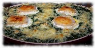 cuisiner des epinards frais gratin d épinards frais aux oeufs et fromages les carnets de