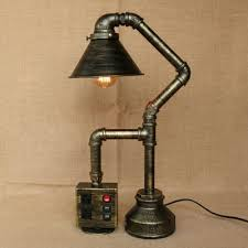 fashion style desk lamps cone table lamps industrial lighting