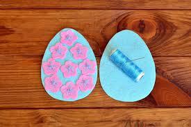 felt easter eggs how to make a felt easter egg sewing set easter felt eggs felt