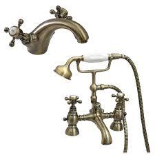 enki shower bath filler tap basin mixer pack antique bronze image is loading enki shower bath filler tap basin mixer pack