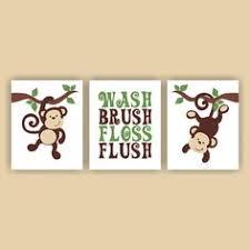 Monkey Bathroom Ideas by Mainstays Monkey Decorative Bath Collection 12 Piece Shower