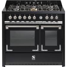 piano de cuisine induction piano de cuisson steel oxford 100 cm 2 fours oxf100 dcharby