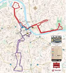 Austin Marathon Map by Nashville Marathon Map Map Of Nashville Marathon Tennessee Usa