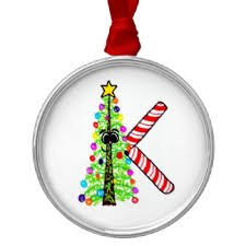 christmas ornaments with initials initials ornaments keepsake ornaments zazzle