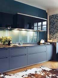 slate blue kitchen cabinets slate blue kitchen cabinets brown and white spotted cowhide wood