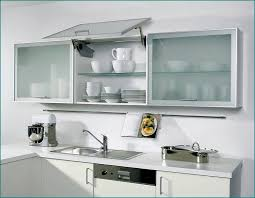 Kitchen Cabinet Doors With Glass Panels Frosted Glass Kitchen Cabinet Doors To Wire Light A