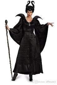 Halloween Stores Online 2017 Role Play Sleeping Curse Black Witch Halloween Customes