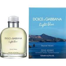 dolce and gabbana light blue men s 2 5 oz light blue discover vulcano edt 125ml for men