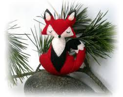 snowy owl felt tree ornament softie pattern sew your