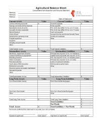 Template For A Balance Sheet by 41 Free Balance Sheet Templates Exles Free Template Downloads