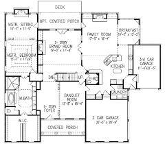 house plans with balcony plan w15788ge balcony overlook e architectural design