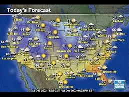us weather map forecast today esl understanding today s weather report from the united states