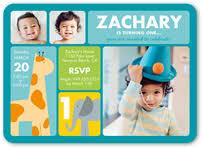 baby boy u0027s 1st birthday invitations shutterfly