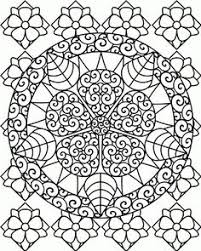 awesome embroidered coloring mandala