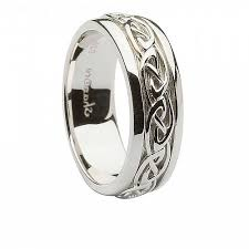 mens silver rings men s celtic knot silver ring celtic rings ltd