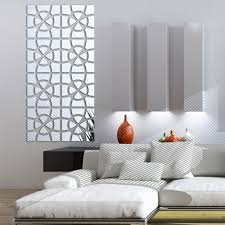 aliexpress com buy modern creative design 3d acrylic mirror wall aliexpress com buy modern creative design 3d acrylic mirror wall sticker living room home decoration diy mirrored wall decals art decor stickers from