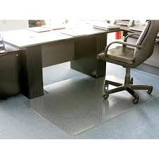 tapis bureau transparent de bureau
