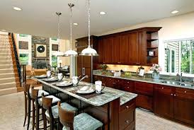 kitchen with island and breakfast bar kitchen island with breakfast bar cool breakfast bar kitchen and