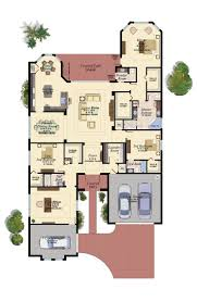 3 Car Garage House Plans by 176 Best Floor Plans Images On Pinterest Architecture Floor