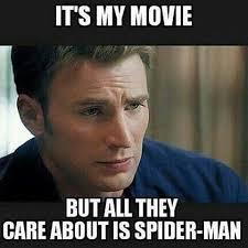 Sad Spider Meme - deluxe sad spider meme captain america civil war funny iron man