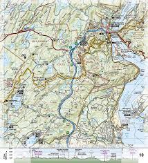 Appalachian Trail Pennsylvania Map by Appalachian Trail Delaware Water Gap To Schaghticoke Mountain