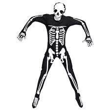 Halloween Jumpsuit Costumes Aliexpress Buy Men Dark Skeleton Costume Catsuit